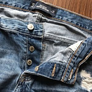 Hollister boyfriend fit jeans